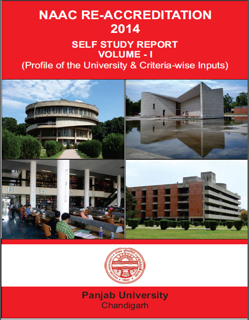 Self Study Report Vol 1